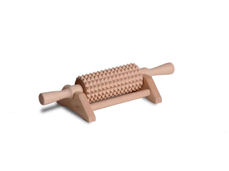 Masażer drewniany z podstawką
