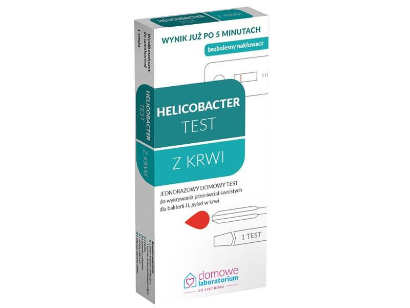 Domowy szybki test na helicobacter we krwi (IGG)
