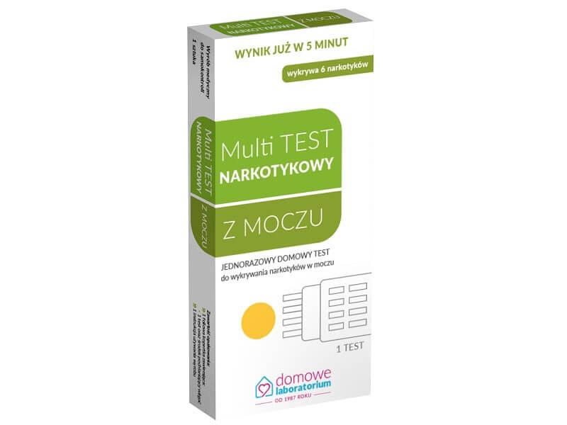 Szybki test na obecność różnych narkotyków w moczu